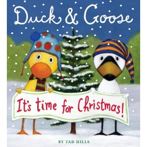 Duck and goose picture book image