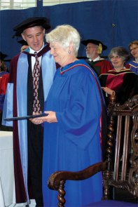 Andrea Deakin OUC Honorary Doctorate