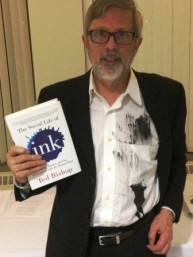 Ted Bishop Gets Inked