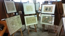 WW1 Maps on Display