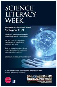 Science Literacy Week Poster