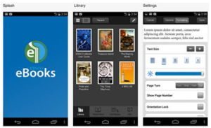 EBSCO eBooks App Display