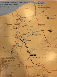 vimy map