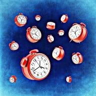 floating clocks
